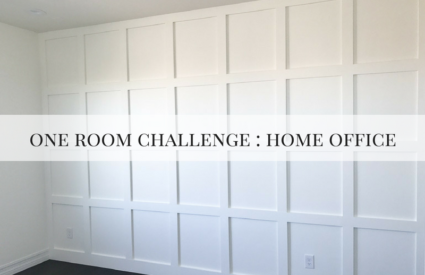 One Room Challenge Home Office Week 1