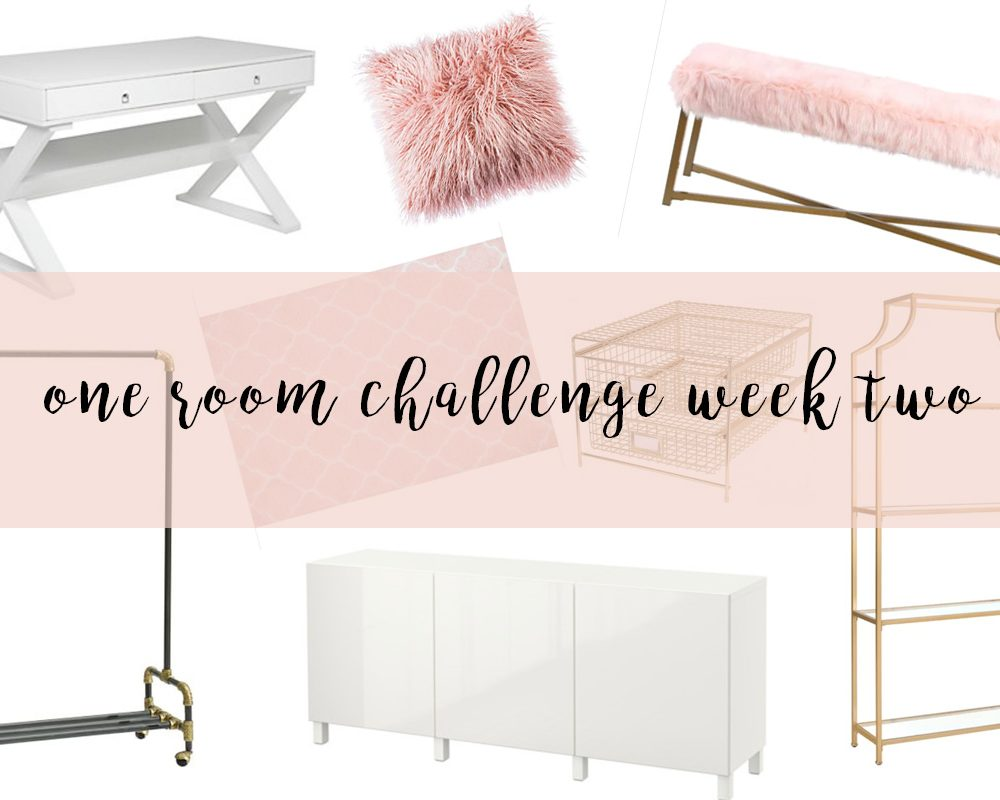 one room challenge week two